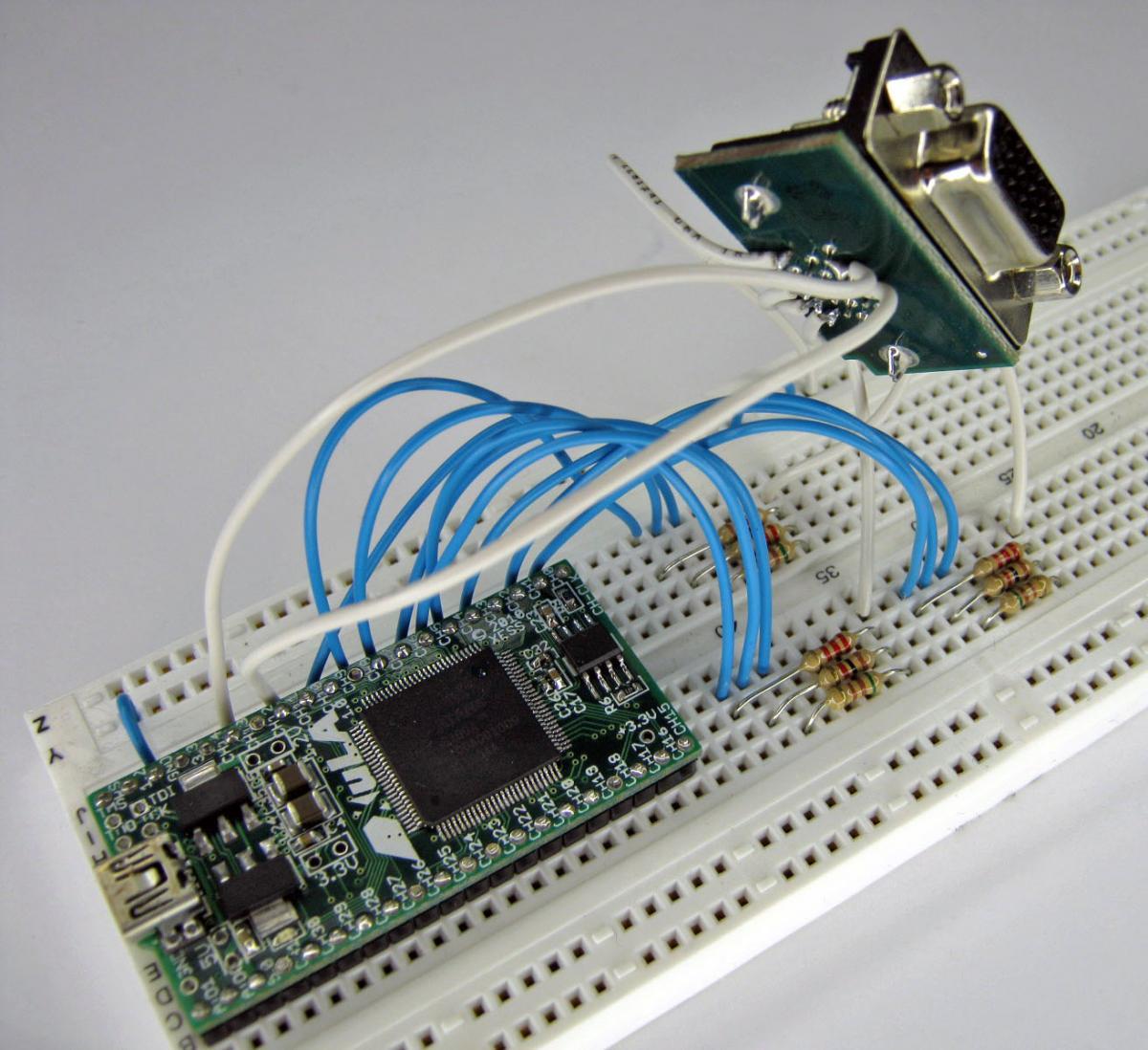 A Simple VGA Interface for the XuLA FPGA Board | XESS Corp